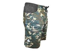 Azore Mens Camo MTB shorts Large or Xlarge £3  Reserve instore @ Halfords