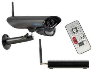 Xenta 2.4GHz Outdoor CCTV Camera and Digital Wireless Receiver System. £46.60 delivered @ Ebuyer