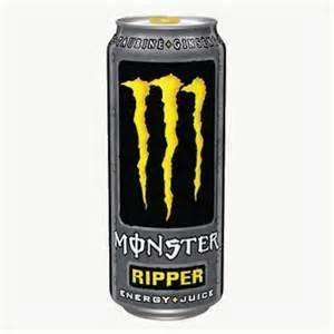 Monster Ripper 500ml cans at Tesco only 34p each!