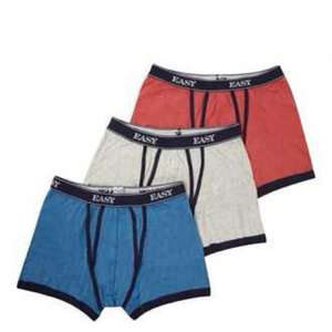 6 Pairs of Boxers for £12.00 @ Matalan