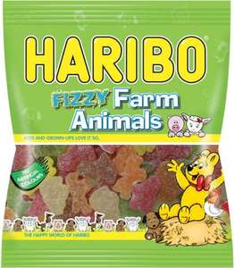 Haribo Fizzy Farm Animals (215g) - 0.32p @ Tesco (INSTORE)
