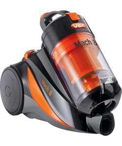 VAX C88-M8-B MACH 8 BASE BAGLESS CYLINDER CLEANER Refurb £53.94 @ Argos Outlet