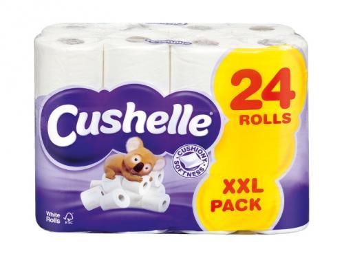Cushelle Toilet Tissue 24 rolls £7.49 @ Lidl