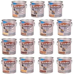 Sadolin Ultra Exterior Translucent Woodstain - 2.5L - Various Colours for £11.98 Delivered @ brooklyn trading