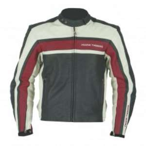 Frank Thomas FTL298 Pacific leather jacket - Red £79, save £120 @ megamotorcyclestore