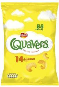 14 pack Quavers only £1.50 @ ASDA