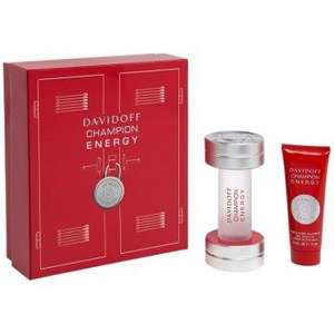 Davidoff Champion Energy 50ml EDT Spray Gift Set - £25.57 - Free delivery- Click Fragrance