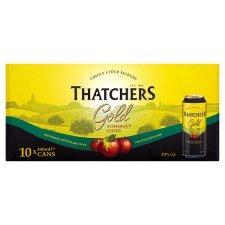Thatchers Gold, 2 X ten can packs for £15 @ Tesco