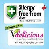 free tickets to The Allergy & Free From Show 2013 in London and The Allergy & Free From Show North in Liverpool!