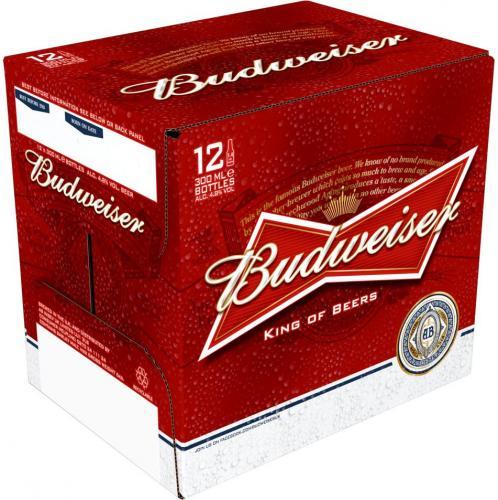 12 bottles of Budweiser for 5 quid @ Asda Gateshead (Metro Centre)