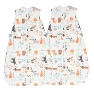 Grobag Travel 1.0 Tog Twin Pack Sleeping bag sale £29.99 @ Babycurls