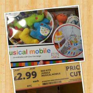 Cot mobile £2.99 at tesco
