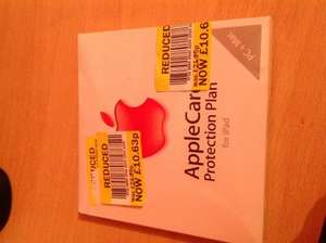 AppleCare iPad Reduced £10.63 @ Tesco - Cardiff Extra