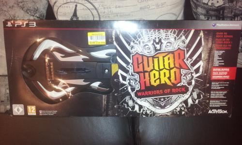 Guitar Hero Warriors of Rock PS3 & Wii £22.50 in store @ Tesco