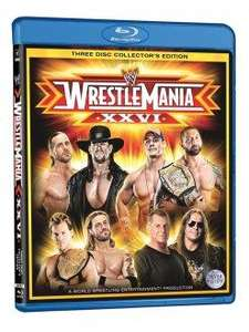 Wrestlemania 24-27 Buy 2 get 1 free @ Silvervision. 3 for £17.98