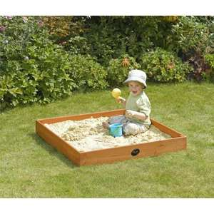 Plum Junior Outdoor Play Wooden Sand Pit now £11.25 del @ Amazon (price matched Tesco)