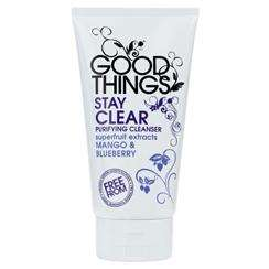 Good Things Stay Clear Purifying Cleanser 150ml 49p Normally £4.99 ( A must have for oily skin)@Superdrug Online BACK IN STOCK CAN ORDER MORE THEN 1 ASWELL!
