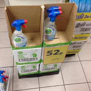 Dettol antibacterial surface cleanser 52p @tesco instore