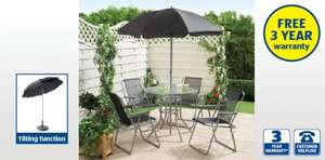 6 Piece Garden Patio Furniture Set £49.99 At Aldi (from 2nd May)