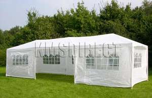 Massive Party Tent Garden Marquee Gazebo Garage 9m x 3m Only £65.90 FREE Delivery @ ebay  mantradingltd (Shop-Until-You-Drop)