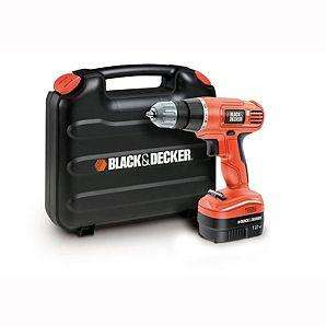 Black and Decker EPC12CAK Cordless Drill £20 instore at Asda