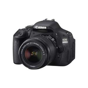 Free Canon 50mm f1.8 Lens With Any Canon EOS 600D @ Amazon (From £399.95)