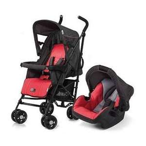 Hauck Turbo Plus Shop'n'Drive Travel System in Red £78.74 @ bambinodirect