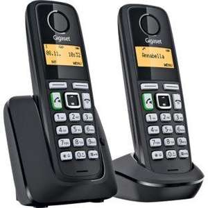 Gigaset A220A Cordless Telephone with Answer Machine - Twin. From Argos £19.99