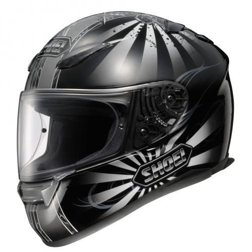 The Shoei XR1100 Conqueror TC5 motorcycle helmet £269.99 sold by Helmet City
