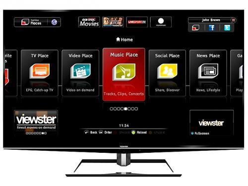 £3,495 Toshiba 55ZL2B 55in Quad HD Ultra HD Glasses-Free 3D Smart LED TV @ 123av