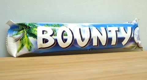 Bounty 57g Chocolate Bar 39p @ Sainsbury's, Canley