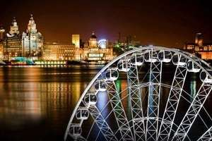 £6 for 2 tickets for the wheel of Liverpool, York or Plymouth from Groupon
