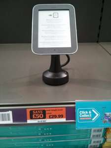 Nook Simple Touch £29.99 @ Sainsbury's stores,