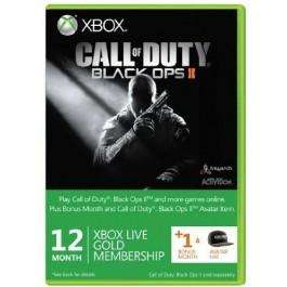 13 month xbox live gold(Instant Delivery) + Black ops 2 avatar hat with 5% discount £27.59 @ CDKeys