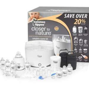Tommee Tippee Closer To Nature Complete Starter Kit £55 @ Mothercare
