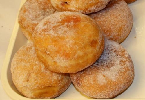 Raspberry Jam Doughnuts - FIVE for 50p @ Morrisons