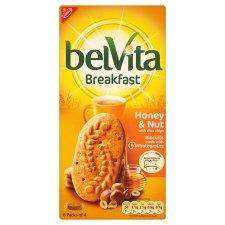 Belvita Breakfast/Honey Nuts biscuits.£1.44 @co-op