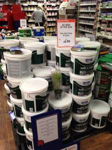 The Range - Johnstone's One Coat Shed and Fence Paint.  Large 9L bucket £6.99