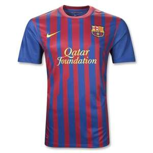 Barcelona 11/12 shirt £11.99 + p&p @ mandm direct