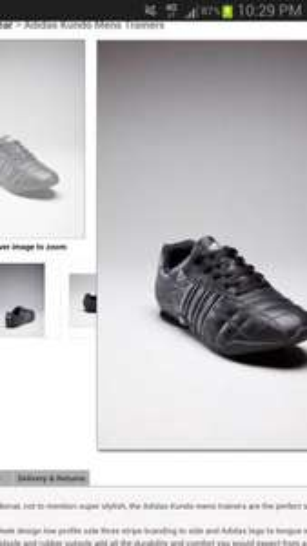 Adidas Kundo Mens Trainers - Footwear - Men's £27.99 @ Bargain Crazy