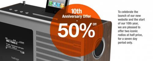 Selected Revo Internet Radios Half Price @ Revo
