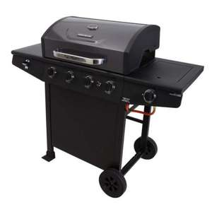 Brinkmann 4 Burner and Side Burner Gas Barbecue £149.00 @ Asda Direct