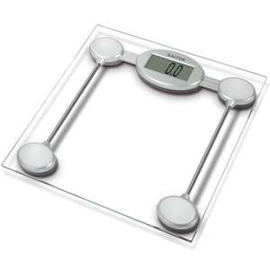 Salter 9018S SV3R Electronic Glass Platform Bathroom Scale - £9.50 Delivered @ Amazon
