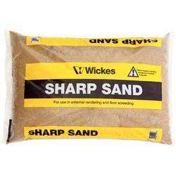 Sharp sand £1.81 or £0.99 per bag if you buy 10 bags, in store/online @ wickes