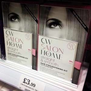 Charles Worthington Salon at Home Straightening Kit,  £3.99 at Home Bargains