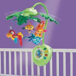 Fisher-Price Rainforest Peek-a-Boo Leaves Musical Mobile - £25.19 @ Mothercare