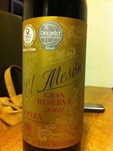 El Mesón Gran Reserva Rioja 2001 £7 @ Asda!