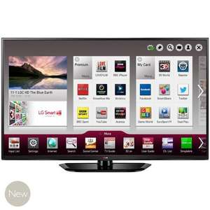 "LG 50PH660V 50"" 3D Smart plasma - John Lewis price matched to R/sounds £649.95"