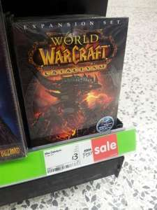 World of Warcraft Cataclysm £3 @ ASDA Instore
