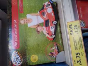 car pool or ball pool £3.75 at Tesco